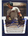 NOMAR GARCIAPARRA BOSTON RED SOX AUTOGRAPHED BASEBALL CARD #31915i