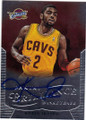 KYRIE IRVING CLEVELAND CAVALIERS AUTOGRAPHED BASKETBALL CARD #31915L