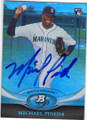 MICHAEL PINEDA SEATTLE MARINERS AUTOGRAPHED ROOKIE BASEBALL CARD #31915N