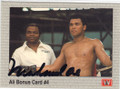 MUHAMMAD ALI AUTOGRAPHED BOXING CARD #32015N