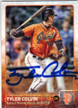 TYLER COLVIN SAN FRANCISCO GIANTS AUTOGRAPHED BASEBALL CARD #32115F