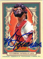 TED SIMMONS ST LOUIS CARDINALS AUTOGRAPHED BASEBALL CARD #32115F