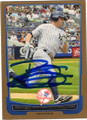 BRETT GARDNER NEW YORK YANKEES AUTOGRAPHED BASEBALL CARD #32215G
