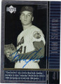 TOM SEAVER NEW YORK METS AUTOGRAPHED BASEBALL CARD #32315H