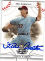 STEVE CARLTON PHILADELPHIA PHILLIES AUTOGRAPHED BASEBALL CARD #32415A