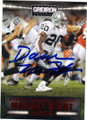 DARREN McFADDEN OAKLAND RAIDERS AUTOGRAPHED FOOTBALL CARD #32415G