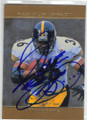 JEROME BETTIS PITTSBURGH STEELERS AUTOGRAPHED FOOTBALL CARD #32415K