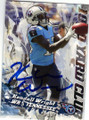 KENDALL WRIGHT TENNESSEE TITANS AUTOGRAPHED FOOTBALL CARD #32615A