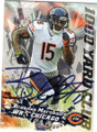 BRANDON MARSHALL DENVER BRONCOS AUTOGRAPHED FOOTBALL CARD #32715J