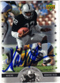 MARCUS ALLEN LOS ANGELES RAIDERS AUTOGRAPHED FOOTBALL CARD #33115B