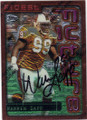 WARREN SAPP TAMPA BAY BUCCANEERS AUTOGRAPHED FOOTBALL CARD #40315C