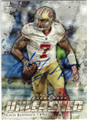 COLIN KAEPERNICK SAN FRANCISCO 49ers AUTOGRAPHED FOOTBALL CARD #40415B