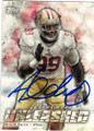 ALDON SMITH SAN FRANCISCO 49ers AUTOGRAPHED FOOTBALL CARD #40415E