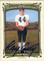RAY GUY SOUTHERN MISSISSIPPI AUTOGRAPHED FOOTBALL CARD #40415i