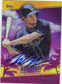 WIL MYERS TAMPA BAY RAYS AUTOGRAPHED BASEBALL CARD #40415J