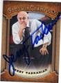 JERRY TARKANIAN AUTOGRAPHED BASKETBALL CARD #40415K