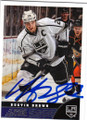 DUSTIN BROWN LOS ANGELES KINGS AUTOGRAPHED HOCKEY CARD #40715B