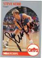 STEVE KERR CLEVELAND CAVALIERS AUTOGRAPHED BASKETBALL CARD #40715J