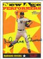 MARIANO RIVERA NEW YORK YANKEES AUTOGRAPHED BASEBALL CARD #40715K