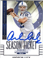 ANDREW LUCK INDIANAPOLIS COLTS AUTOGRAPHED FOOTBALL CARD #40815D