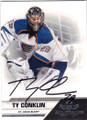 TY CONKLIN ST LOUIS BLUES AUTOGRAPHED HOCKEY CARD #40915B