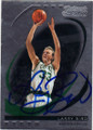 LARRY BIRD BOSTON CELTICS AUTOGRAPHED & NUMBERED BASKETBALL CARD #41015E