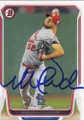 MICHAEL WACHA ST LOUIS CARDINALS AUTOGRAPHED BASEBALL CARD #41315D