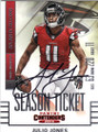 JULIO JONES ATLANTA FALCONS AUTOGRAPHED FOOTBALL CARD #41315J