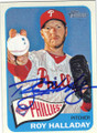ROY HALLADAY PHILADELPHIA PHILLIES AUTOGRAPHED BASEBALL CARD #41315K