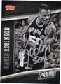 DAVID ROBINSON SAN ANTONIO SPURS AUTOGRAPHED BASKETBALL CARD #41315L