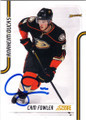 CAM FOWLER ANAHEIM DUCKS AUTOGRAPHED HOCKEY CARD #41415M