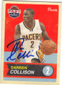 DARREN COLLISON INDIANA PACERS AUTOGRAPHED BASKETBALL CARD #41515F