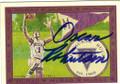 OSCAR ROBERTSON MLWAUKEE BUCKS AUTOGRAPHED BASKETBALL CARD #41515i