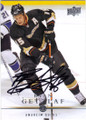 RYAN GETZLAF ANAHEIM DUCKS AUTOGRAPHED HOCKEY CARD #41515L
