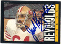 JACK REYNOLDS SAN FRANCISCO 49ers AUTOGRAPHED VINTAGE FOOTBALL CARD #41715M