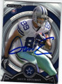 GAVIN ESCOBAR DALLAS COWBOYS AUTOGRAPHED ROOKIE FOOTBALL CARD #41715O