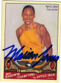 MARION JONES AUTOGRAPHED TRACK & FIELD CARD #41815i