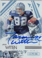 JASON WITTEN DALLAS COWBOYS AUTOGRAPHED FOOTBALL CARD #42015E