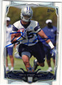 DEVIN STREET DALLAS COWBOYS AUTOGRAPHED FOOTBALL CARD #42015i