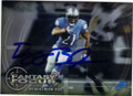 REGGIE BUSH DETROIT LIONS AUTOGRAPHED FOOTBALL CARD #42115i