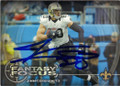JIMMY GRAHAM NEW ORLEANS SAINTS AUTOGRAPHED FOOTBALL CARD #42215H