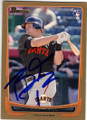 BRETT PILL SAN FRANCISCO GIANTS AUTOGRAPHED ROOKIE BASEBALL CARD #42215O