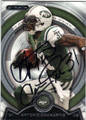 ANTONIO CROMARTIE NEW YORK JETS AUTOGRAPHED FOOTBALL CARD #42315A