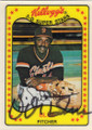 VIDA BLUE SAN FRANCISCO GIANTS AUTOGRAPHED VINTAGE BASEBALL CARD #42415H