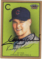 KERRY WOOD CHICAGO NATIONALS AUTOGRAPHED BASEBALL CARD #42715G