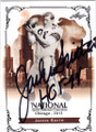 JACKIE SMITH AUTOGRAPHED FOOTBALL CARD #42815A