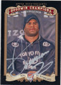 ALISTAIR OVEREEM MIXED MARTIAL ARTIST AUTOGRAPHED CARD #42815D