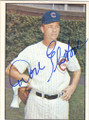 DON ELSTON CHICAGO CUBS AUTOGRAPHED VINTAGE BASEBALL CARD #42815J