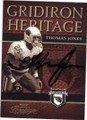 THOMAS JONES ARIZONA CARDINALS AUTOGRAPHED FOOTBALL CARD #42815L