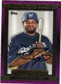 PRINCE FIELDER MILWAUKEE BREWERS AUTOGRAPHED BASEBALL CARD #42915F